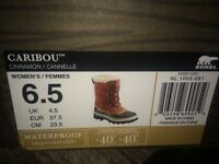 Brand new woman's Sorel boots