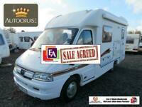 Autocruise Star Quest Low Pro 2 Berth Motor Home