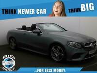 2019 Mercedes-Benz E Class E 220 D AMG LINE Auto Convertible Diesel Automatic