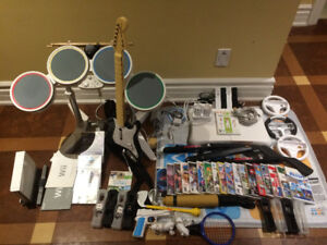 BEST Nintendo Wii value bundle out there!! 23 games+accessories!