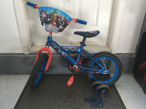 Children's Bicycle w/training wheels - Avengers Themed - $70 OBO