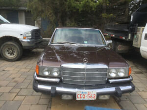 1980 Mercedes 2nd Owner