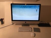 "iMac 27"" Intel Core i3 3.2GHz - 16GB RAM - 256GB SSD - 1TB Hard Drive"
