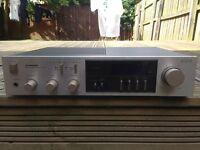 Pioneer Amp equaliser audio stereo hi-fi
