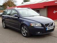 2012 (12) Volvo V50 1.6d DRIVe SE Lux Diesel £0 road tax (free) PCP deal £204