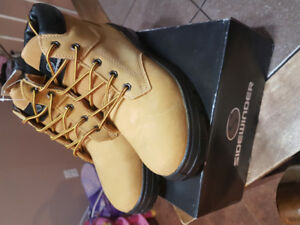 Mens Size 9 Brand New Steel Toe Work Boots for Sale