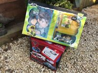 DISNEY CARS EASEL AND BEN 10 BUNDLE. BRAND NEW!