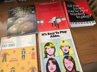 Assorted Piano and Song Music.