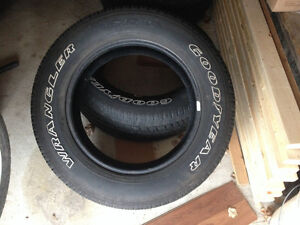 4- GOODYEAR WRANGLER TIRES