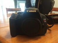 Canon T3I with lenses and bag