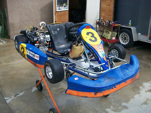 Go Kart with race experience in Summerland..