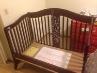 Used three in one crib
