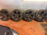 4 set of Alloy wheels fits in Corsa & astra