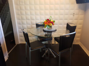 Dining Table and 4 Chairs - Great price!