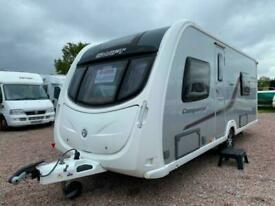 SOLD | SWIFT CONQUEROR 565 | 2012 | 4 BERTH CARAVAN | SOLD