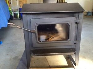 Rarely used wood stove