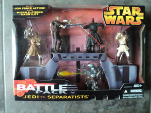 Star Wars Battle Pack Jedi vs Separatists *NEW IN BOX*