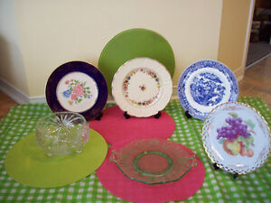 1/2 PRICE*Antique COALPORT Plate/CORNFLOWER+More*SEE EACH  PRICE