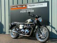 TRIUMPH BONNEVILLE T100 110 ANNIVERSARY EDITION MODERN CLASSIC MOTORCYCLE