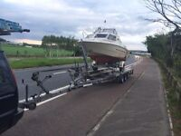 Boat bike car transport space available England Scotland