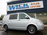 2009 Volkswagen TRANSPORTER T5 T26 TDI SWB WINDOW VAN *SILVER* Manual Medium Van