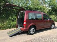 2013 Volkswagen Caddy Life 1.6 TDI 5dr DSG AUTOMATIC WHEELCHAIR ACCESSIBLE VE...