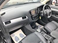 2014 Mitsubishi Outlander 2.0 PHEV GX4hs 4x4 5dr (5 seats) PETROL/ELECTRIC black