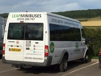 MINIBUS HIRE WITH DRIVER, MALE & FEMALE DRIVERS, UK TO EUROPE! BOOK EARLY TO AVOID DISAPPOINTMENT.