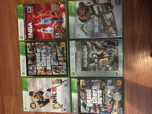 Barely used XBOX 360 games!