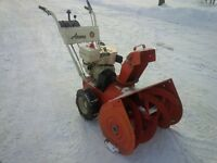 ARIENS HEAVY DUTY TWO STAGE SNOWBLOWER