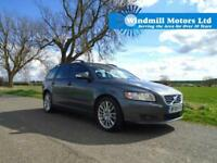 2008/08 VOLVO V50 2.4 D5 SE GEARTRONIC 5DR AUTOMATIC ESTATE + 180 BHP +