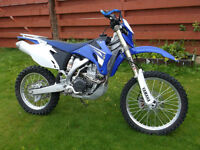 WR 450 with track kit
