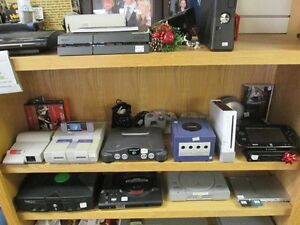 NINTENDO Game Systems + Games