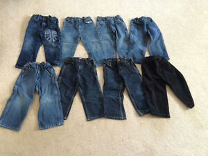 LOT of Toddler Boy's Jeans - Size 2T