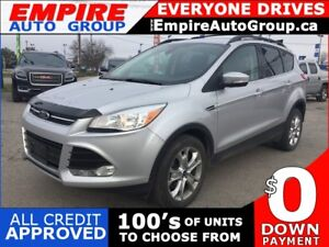 2013 FORD ESCAPE SEL * AWD * LEATHER * NAVIGATION * BLUETOOTH *