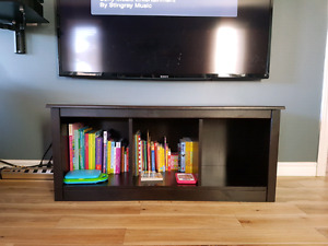 Solid wood TV Stand / Book shelf / Cubby