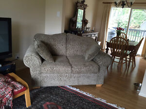 Green Love Seat for Sale, Matching couch also available