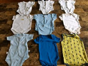 FAITES VOTRE PROPRE LOT 0 à 6 mois vêtements garçon