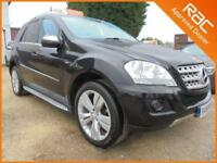 2010 10 MERCEDES-BENZ M CLASS 3.0 ML350 CDI BLUEEFFICIENCY SPORT 5DR AUTO 231 BH
