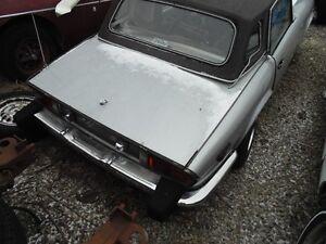 1977 Spitfire parts car