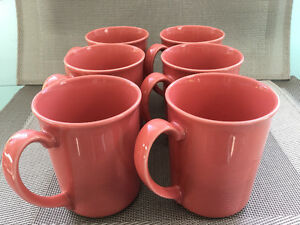 Vintage Corningware ceramic coffee mugs