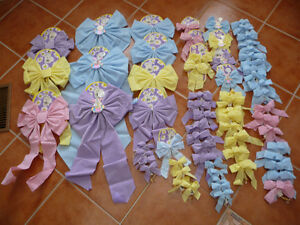 Variety of Brand New Easter Bows - Lots Of Colours & Sizes