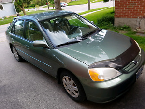 2003 civic anniversary edition, auto with winter wheels+tires