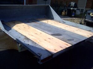 Two place sled trailer for sale