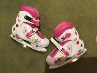 Disney princess hockey skates