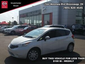 2014 Nissan Versa Note SV   - Bucket Seats - $97.69 B/W