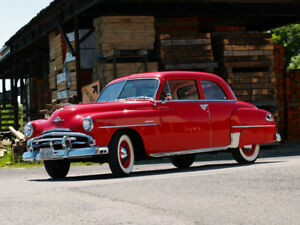 1952 Plymouth Cranbrook 2-door Club Coupe