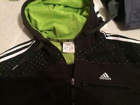 Adidas zip up top
