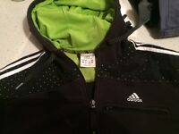 Adidas zip up top