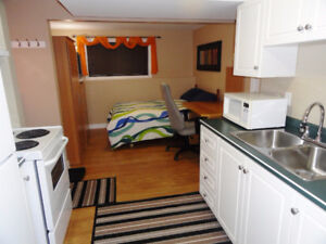 Available April 1 5 / 2018 - Furnished Bachelor Apartment